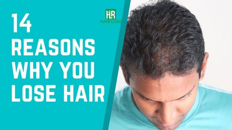 14 Causes of Hair Loss in Men and Women – Explained